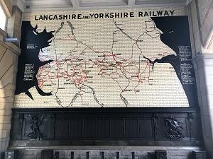 Lancashire & Yorkshire Map