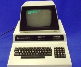 A Commodore PET home computer